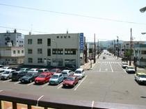 遠軽駅からの景色