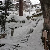 山寺(冬)