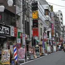 ☆商店街☆ ホテル近隣は商店街が充実。