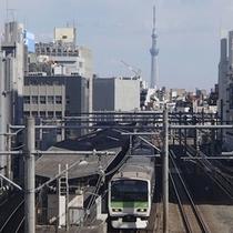 ☆大塚駅と東京スカイツリー☆