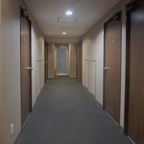 ☆客室廊下☆落ち着きのある客室廊下