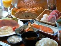 朝食バイキング(朝食は日によって和食膳となります)