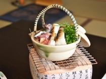 【料理★ずっぽん土瓶蒸し】