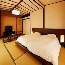 和室12畳ツィンベッドルーム