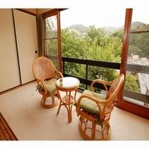 三階客室からの眺望一例