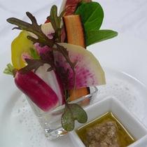冬野菜 バーニャカウダ(一例)