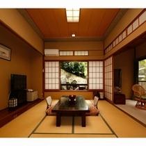 10畳源泉檜風呂付のお部屋一例