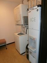 ランドリーと製氷機