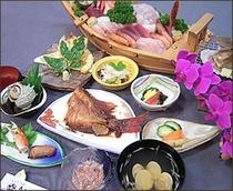 海の幸懐石風・通常料理
