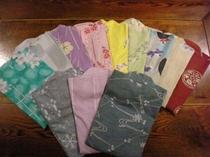 選べる色浴衣(平日、女性のみ)