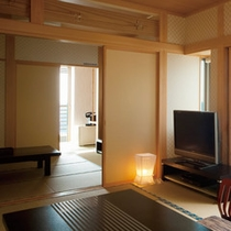 ★松石庵客室(左)
