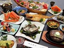越前旬懐石海鮮フルコース