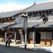 【伊達時代村】忍者ショー 江戸時代にタイムスリップした気分を味わえます