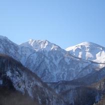 【黒岳】最上階からの景色(冬)