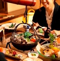 北番屋の個室で楽しむお食事(イメージ)