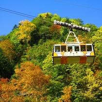 【黒岳ロープウェイ】日本一早い紅葉を空中から♪