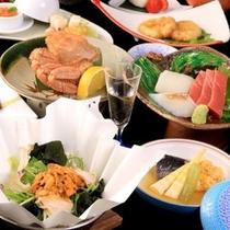 青森・函館の郷土料理をとりいれた「津軽海峡膳」