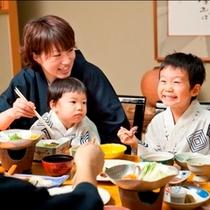 ◇家族でお部屋食(夕食)