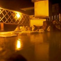 ■空中露天風呂(夜)〜いさりび〜