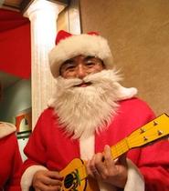クリスマス期間はサンタさん登場!