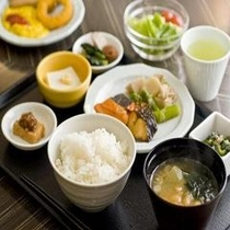 ◆【朝食】和洋バイキング(和食一例) ※内容は季節によって異なります