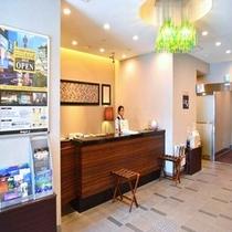 ◆【館内施設】1階フロント 『いらっしゃいませ』お客様を笑顔でお迎え致します♪♪