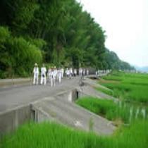 ☆歩き遍路へんろとは弘法大師自身が修行された足跡を歩いて辿り、道中にある八十八の寺院を参拝することで