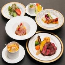 ☆幕末西洋料理「偉人コ一ス」をデザートまでご堪能下さいませ。