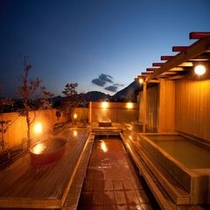 展望露天風呂「空の湯」