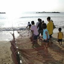 夏休みは早起きして地引網体験にチャレンジ♪無料で参加できるよ♪自由参加となります。