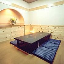 【個室お食事処】堀こたつ式の個室お食事処「漁火庵」正座のできない方にお勧め・・・