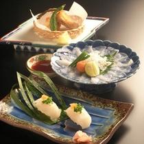 てっさ・からあげ・寿司