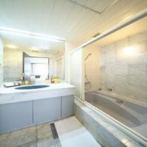 デラックスツインルーム-バスルーム-
