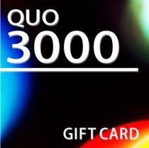 【QUO】3000円付プラン