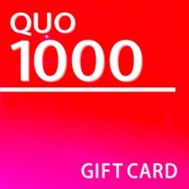 【QUO】1000円付プラン