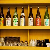 秋田や横手の地酒も豊富に取り揃えております!