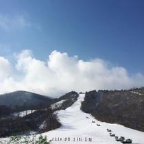 すぐ近くにはえぼしスキー場