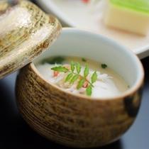 蟹味噌ムースの茶碗蒸し
