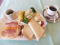 朝食「洋食」