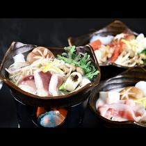 ◆【ご夕食一例・冬季】合鴨鍋