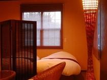 露天風呂付和洋室22畳(檜風呂)③