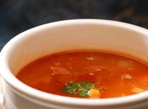 日替わりのトマトのスープ