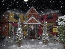 風曜日に雪が!!!!