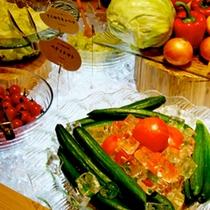 朝食ビュッフェ そのまんま生野菜