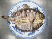 鯉の塩焼き