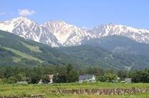 白馬三山遠景
