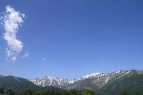 五竜岳遠景