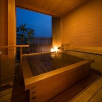 源泉かけ流し準特別室(鷹取)露天風呂