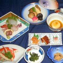 *夕食一例<お料理贅沢コース>