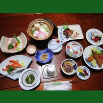 10品コースお料理一例(冬)